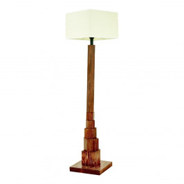 Stojacia lampa z hrabového dreva Eyfel