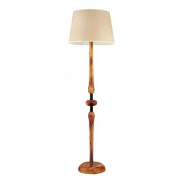 Stojacia lampa z hrabového dreva Mayıs Yanık