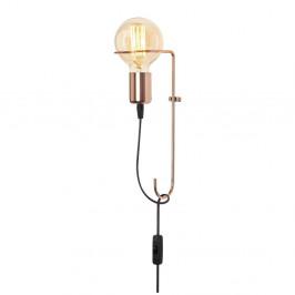 Kovové nástenné svietidlo v medenej farbe Opviq lights Rodopi