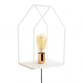 Kovové nástenné svietidlo v medenej farbe Opviq lights Simon