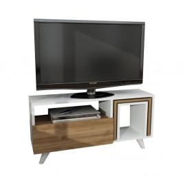 TV stolík v dekore orechové dreva Novellis