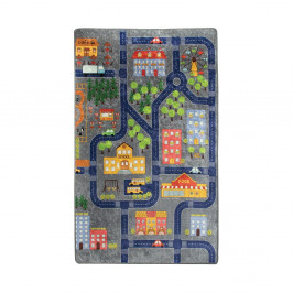 Detský koberec Small Town, 140 × 190 cm