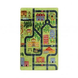 Detský koberec Green Small Town 100 × 160 cm