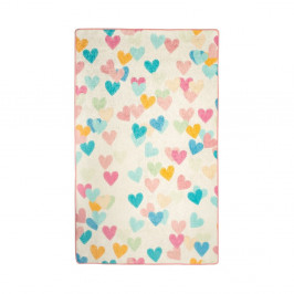Detský koberec Hearts, 100 × 160 cm