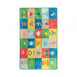 Detský koberec Learning, 140 × 190 cm