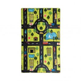 Detský koberec Green City, 100 × 160 cm