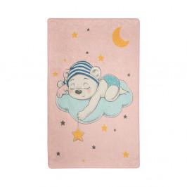 Detský koberec Pink Sleep, 140 × 190 cm