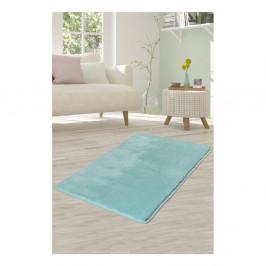 Svetlotyrkysový koberec Milano, 140 × 80 cm
