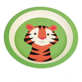 Detský tanier z bambusu Rex London Teddy the Tiger