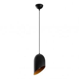 Čierne závesné svietidlo Opviq lights Kesik