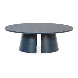 Modrý konferenčný stolík Teulat Cep, ø 110 cm