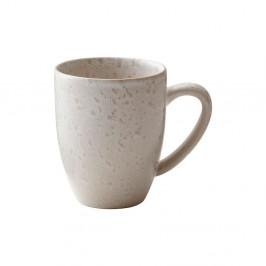 Krémovobiely kameninový hrnček s uškom Bitz Basics Matte Cream, 300 ml