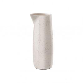 Krémovobiely kameninový džbán na mlieko Bitz Basics Matte Cream, 0,5 l
