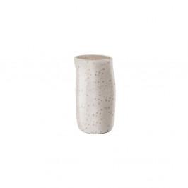 Krémovobiely kameninový džbán na mlieko Bitz Basics Matte Cream, 0,2 l