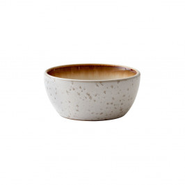 Krémová kameninová servírovacia misa Bitz Basics Cream, ⌀ 12 cm
