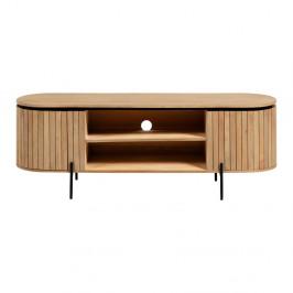 Svetlohnedý TV stolík La Forma Licia, 160 x 55 cm