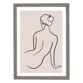 Nástenný obraz v ráme Surdic Woman Studies, 30 x 40 cm