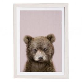 Nástenný obraz v ráme Querido Bestiario Baby Bear, 30 x 40 cm