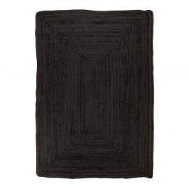 Čierny koberec House Nordic Bombay Rug, 180 x 240 cm