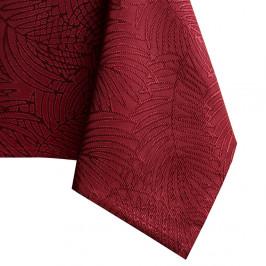 Tmavočervený obrus AmeliaHome Gaia Claret, 140 × 280 cm