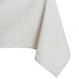 Krémový obrus DecoKing Sparkle Cream, 140 × 260 cm