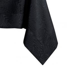 Čierny obrus AmeliaHome Gaia Black, 140 x 280 cm