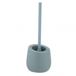 Keramická toaletná kefa Wenko Badi Blue-Grey