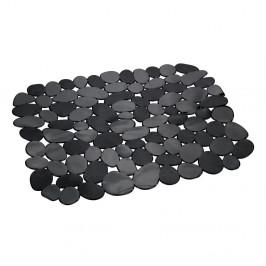Čierna ochranná podložka do drezu Wenko Kristall Stone