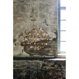 Vonkajšia závesná svetelná dekorácia Best Season Hanging Munt, ⌀ 40 cm