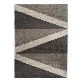 Sivý koberec Universal Focus Hotto, 60 x 110 cm
