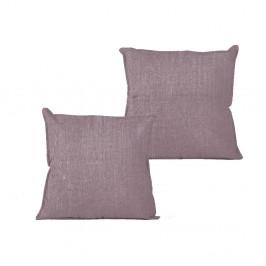 Obliečka na vankúš Linen Couture Violet, 45×45 cm