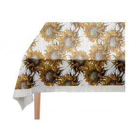 Obrus Linen Couture Sunflower, 140 x 140 cm