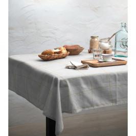 Obrus Linen Couture Beige Lines, 140 x 140 cm
