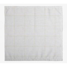 Sada 4 látkových obrúskov s prímesou ľanu Linen Couture Beige Lines, 43 x 43 cm