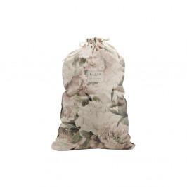 Látkový vak na bielizeň s prímesou ľanu Linen Couture Bag Lily, výška 75 cm