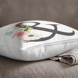 Obliečka na vankúš Minimalist Cushion Covers Floral Alphabet &, 45 x 45 cm