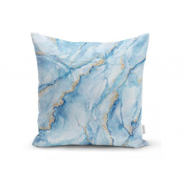 Obliečka na vankúš Minimalist Cushion Covers Aquatic Marble, 45 x 45 cm
