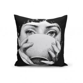Obliečka na vankúš Minimalist Cushion Covers BW Kante, 45 x 45 cm
