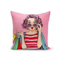 Obliečka na vankúš Minimalist Cushion Covers Gujia, 45 x 45 cm