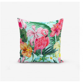 Obliečka na vankúš Minimalist Cushion Covers Yalnız Flamingo, 45 × 45 cm