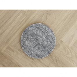 Oceľovosivá plstená podložka pod pohár z vlny Wooldot Felt Coaster, ⌀ 20 cm