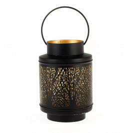 Kovový lampáš Dakls Max, výška 21 cm