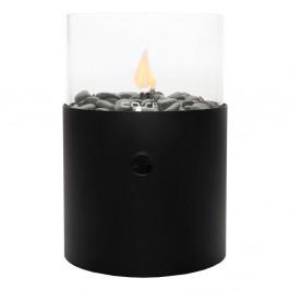 Väčšia čierna plynová lampa Cosi Original, výška 30,5 cm