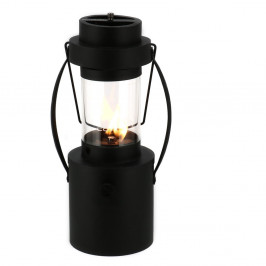 Čierna plynová lampa Cosi Rider, výška 44cm
