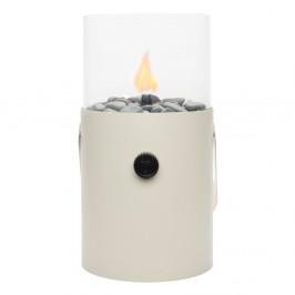 Biela plynová lampa Cosi Original, výška30cm