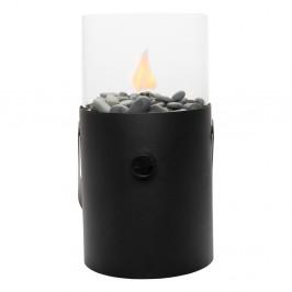 Čierna plynová lampa Cosi Original, výška 30 cm