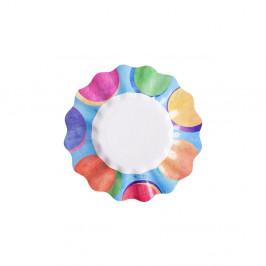 Sada 10 papierových tanierov GiviItalia Panarea, ⌀ 27 cm