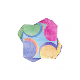 Sada 20 papierových obrúskov GiviItalia Panarea, 33 x 33 cm