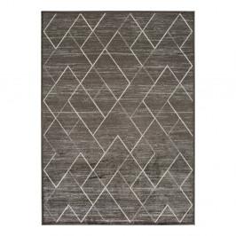Sivý koberec z viskózy Universal Belga, 100 x 140 cm