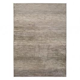 Sivý koberec z viskózy Universal Belga Beigriss, 100 x 140 cm
